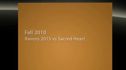Ravens vs Sacred Heart 11Sept10