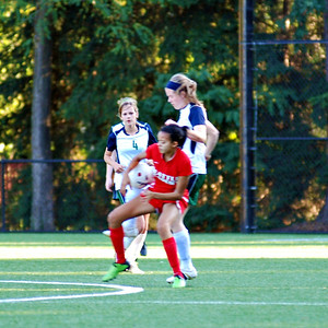 25 Oct 2012 vs Seattle Academy of Arts & Sciences and Senior Night