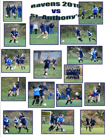 Final game of the season vs St Anthonys