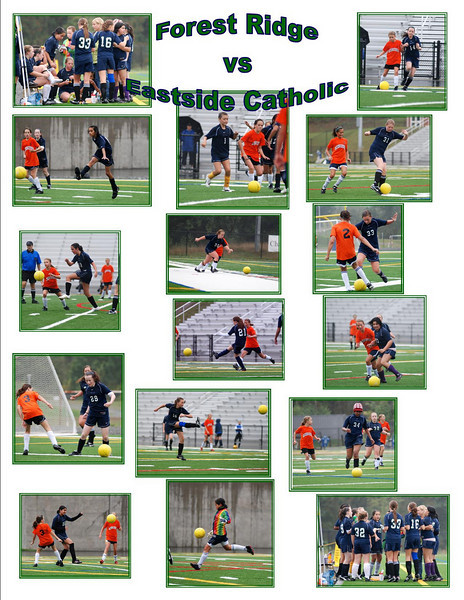 Match 2 vs Eastside Catholic 091909
