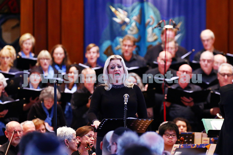 26-6-16. Temple Beth Israel Sacred Music Concert, an Interfaith Celebration, June 2016. Soprano: Lee Abrahmsen. Photo: Peter Haskin