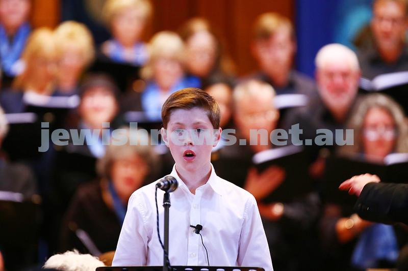 26-6-16. Temple Beth Israel Sacred Music Concert, an Interfaith Celebration, June 2016. Soprano: Jack Kissane. Photo: Peter Haskin