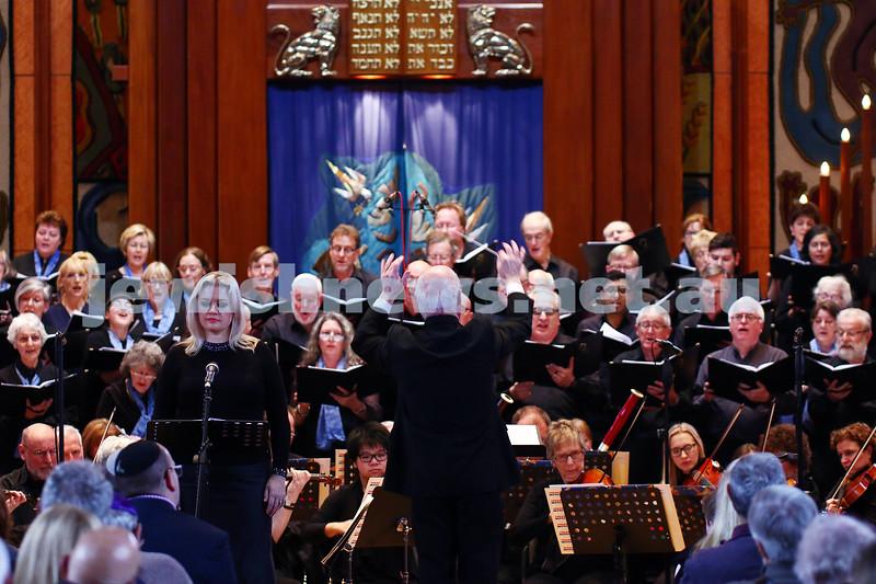 26-6-16. Temple Beth Israel Sacred Music Concert, an Interfaith Celebration, June 2016. Photo: Peter Haskin