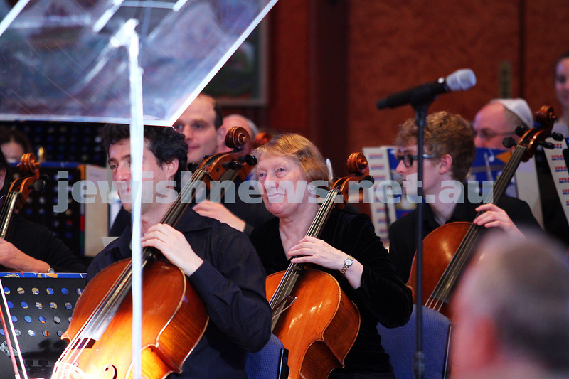 15-6-14. Temple Beth Israel. Sacred Music Concert - An Interfaith Celebration. Camerata Orchestra. Photo: Peter Haskin