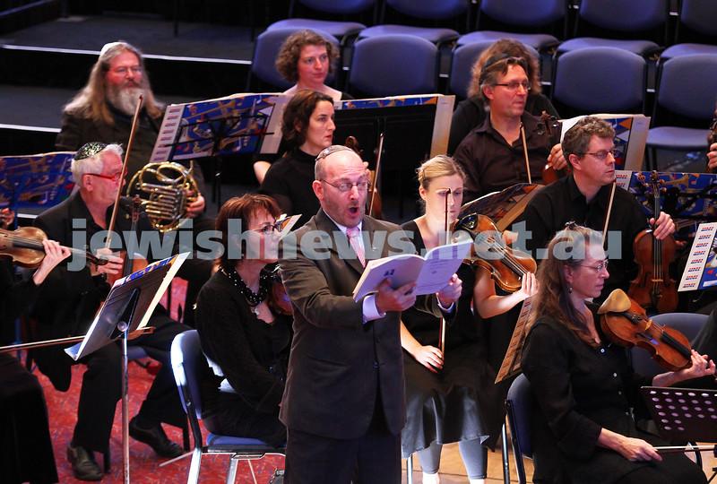15-6-14. Temple Beth Israel. Sacred Music Concert - An Interfaith Celebration. Cantor Michel Laloum. Photo: Peter Haskin