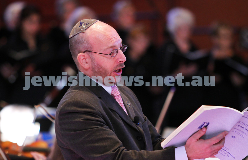 15-6-14. Temple Beth Israel. Sacred Music Concert - An Interfaith Celebration. Cantor Michel Laloum. Photo: Peter Haskin