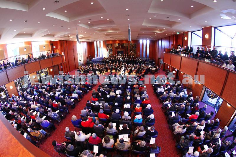 15-6-14. Temple Beth Israel. Sacred Music Concert - An Interfaith Celebration. Photo: Peter Haskin