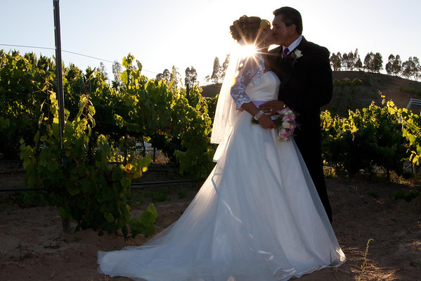Sunset at a Temecula Winery