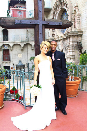 Ali and Albert at the Mission Inn