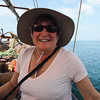 On a dhow to the coral reef for snorkeling