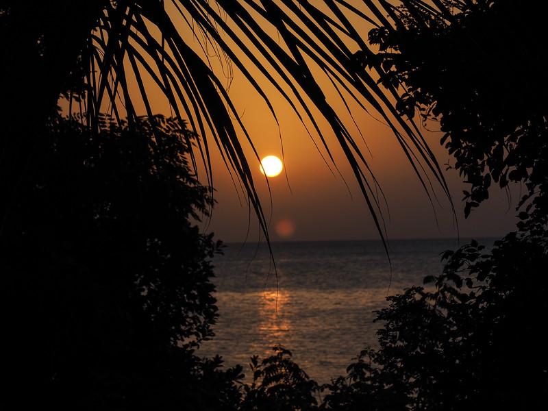 Sunset, Fumba beach