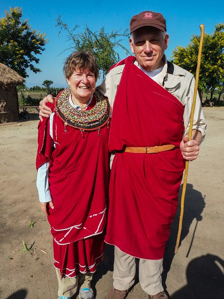 Typical Masai couple