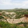 Overlooking Oldupai Gorge
