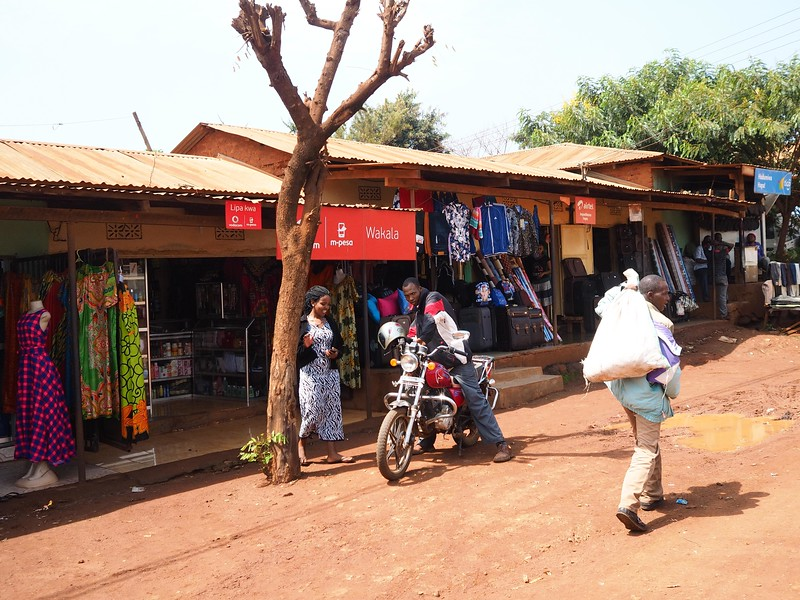 Town of Karatu, street scene