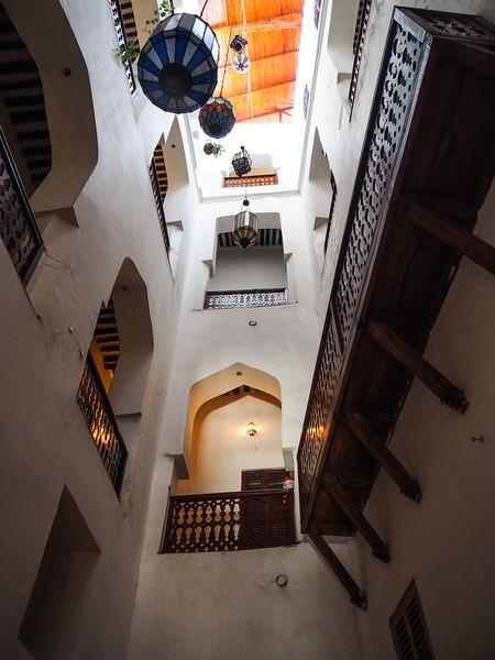 Atrium of Hotel Swahili