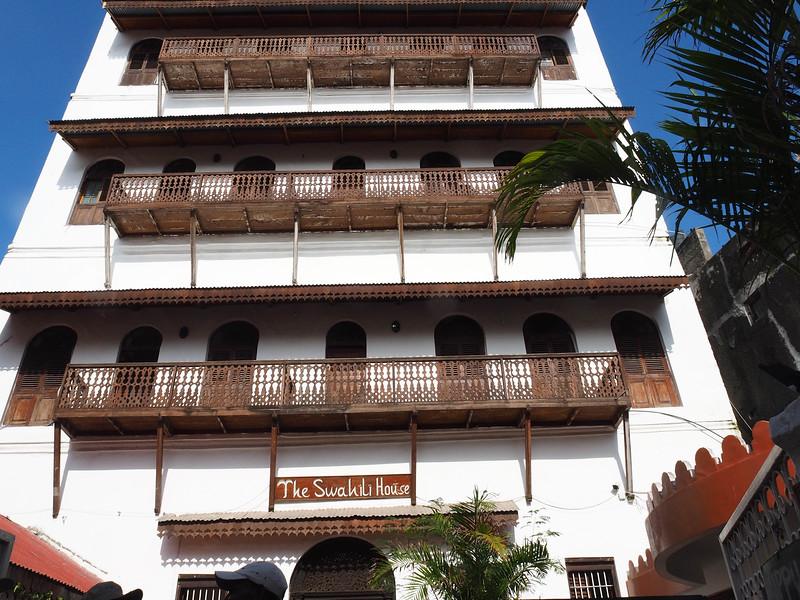 Hotel Swahili, our hotel in Stone Town, Zanzibar