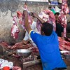 Meat cutter, Stone Town Market