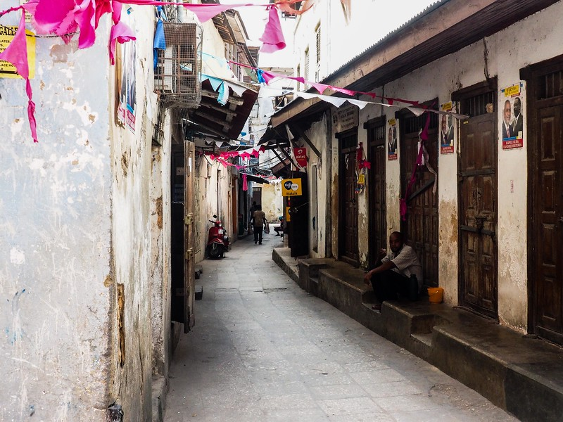 Typical Street in Stone Town