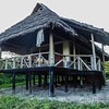 Our tent cabin at Lake Burunge Lodge