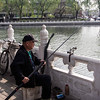 Fishing in a city lake- Beijing