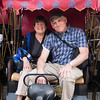 On our trishaw - Beijing
