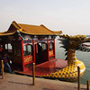 Dragon Boat on the lake in the grounds of the summer palace - Beijing