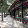 Covered promenade on the grounds of the summer palace - Beijing