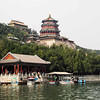 View of the grounds of the summer palace - Beijing