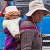 Grandma and baby - Lhasa