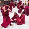 Buddhist monks debating - Sera Monastery, Lhasa
