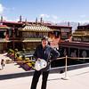 Atop the Jokhang Temple, Lhasa