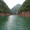 Up a tributary of the Yangtze into a gorge
