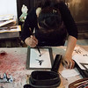 Calligraphy demostration - Xian