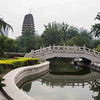 Park surrounding the Small Goose Pagoda - Xian