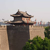 City wall and gatehouse - Xian