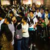 Crowds inside Building 2 - Xian