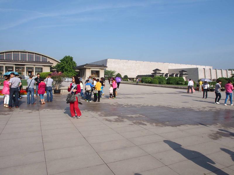 Exhibition halls for the Terracotta Warriors - Xian