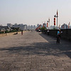 Atop the city wall - Xian