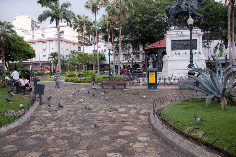 A park in Guayquil