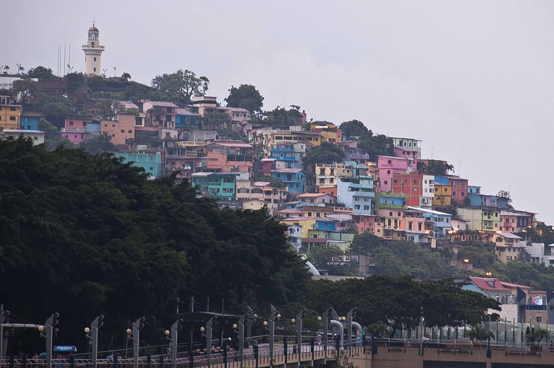 View of the old town of Guayaquil