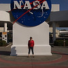 Entrance to Kennedy Space Center