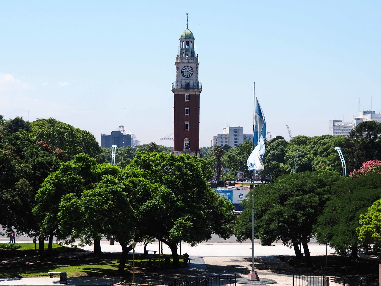 The British Tower, Parque San Martin, Buenos Aires