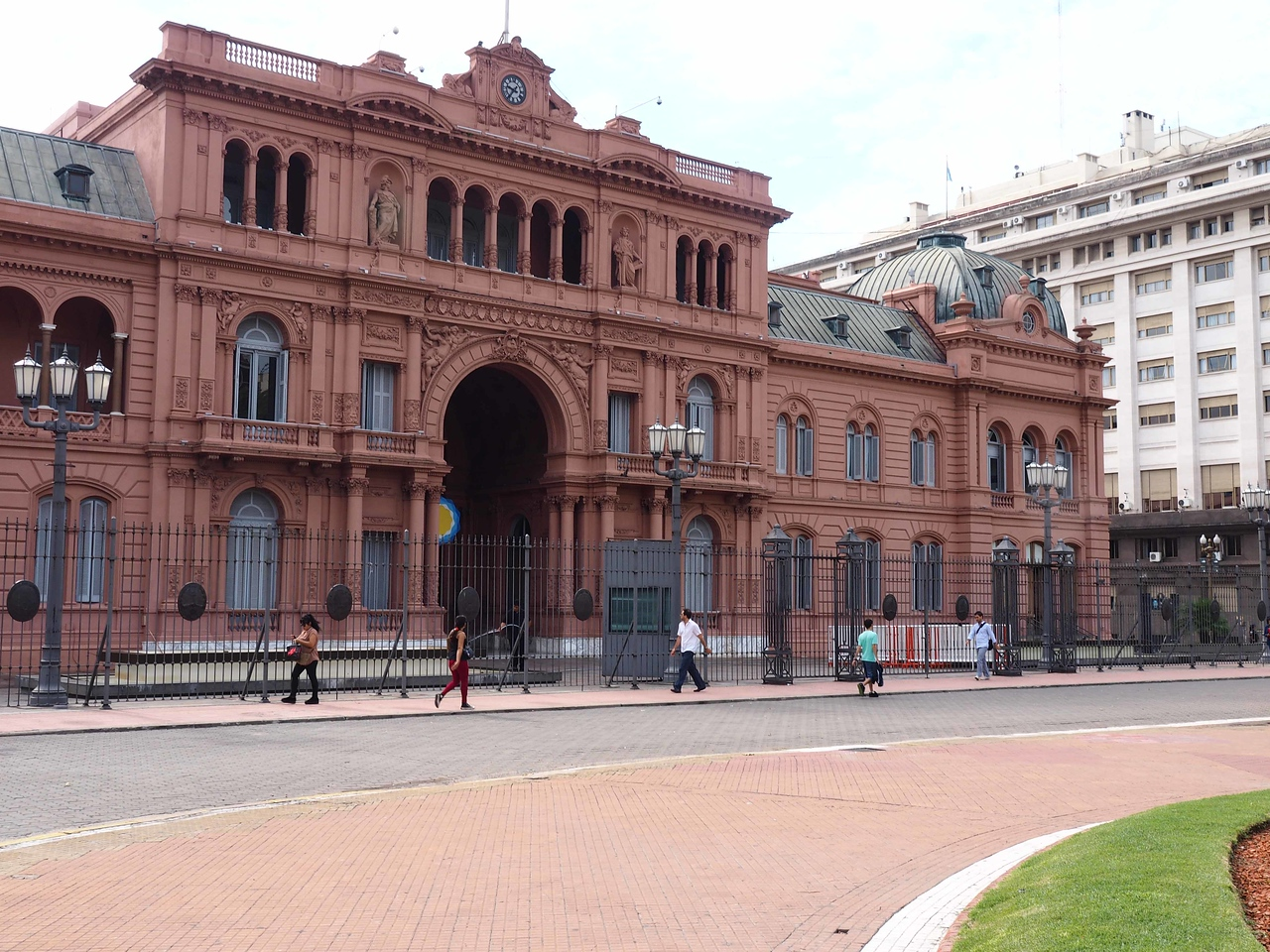 The Pink Palace home of the President of Argentina