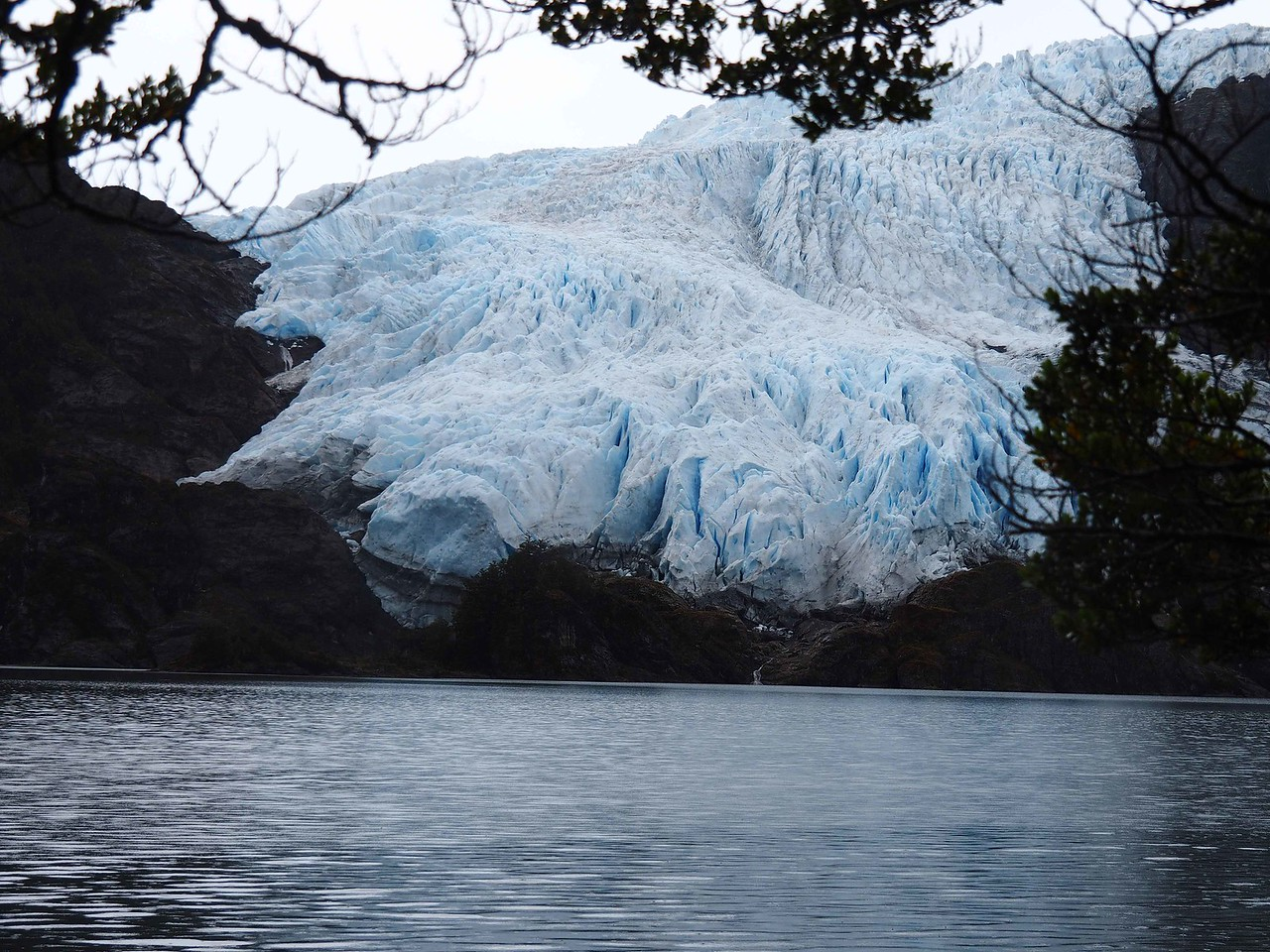 Another view of the glacier