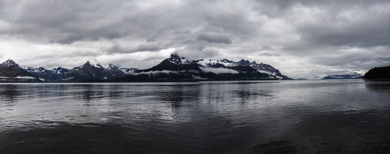 Panorama of Agostini Fjord