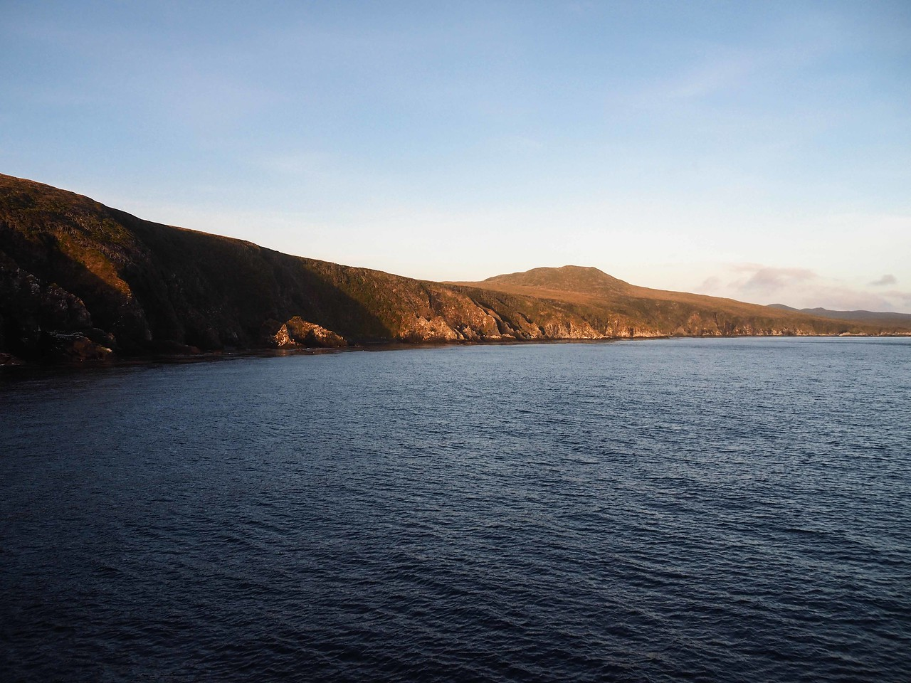 Isla Cabos del Hornos (Island of Cape Horn) in the Early Morning Light