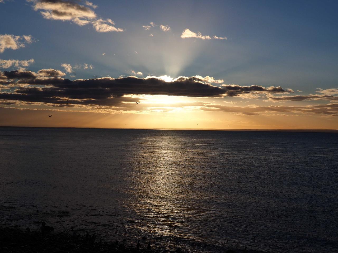 Sunrise on Magdalena Island