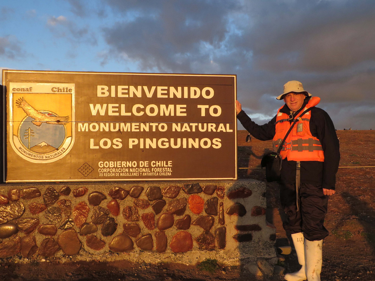 Magdalena Island. Home to 73,000 Magellenic Penguins