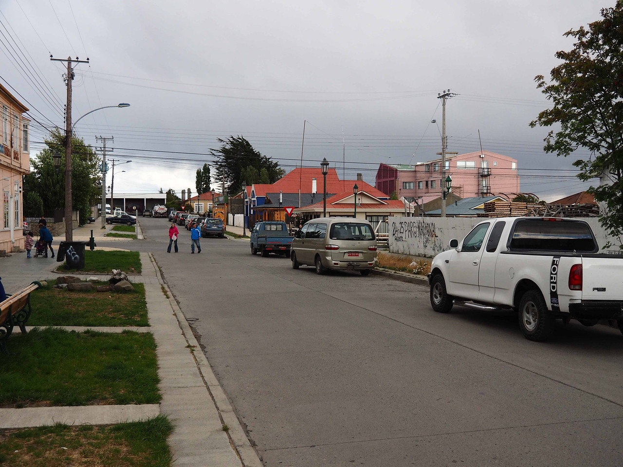 Puerto Natales. The last town before Torres del Paine, 100 miles away.