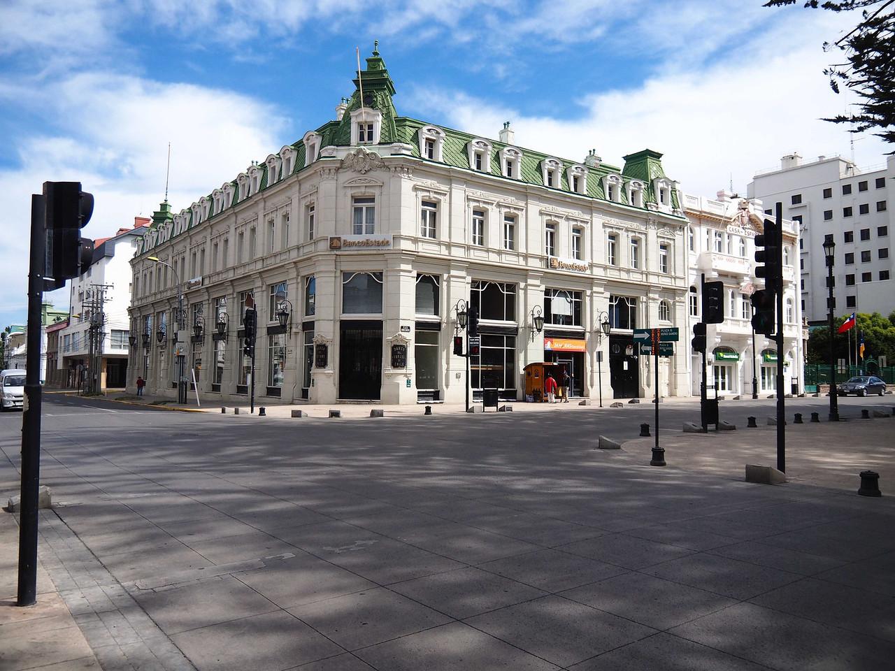 European style classic building
